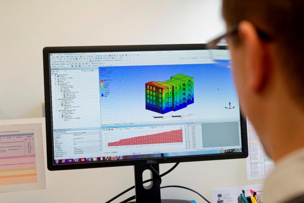 Expertise Bâtiment du CERIB - Dimensionnement