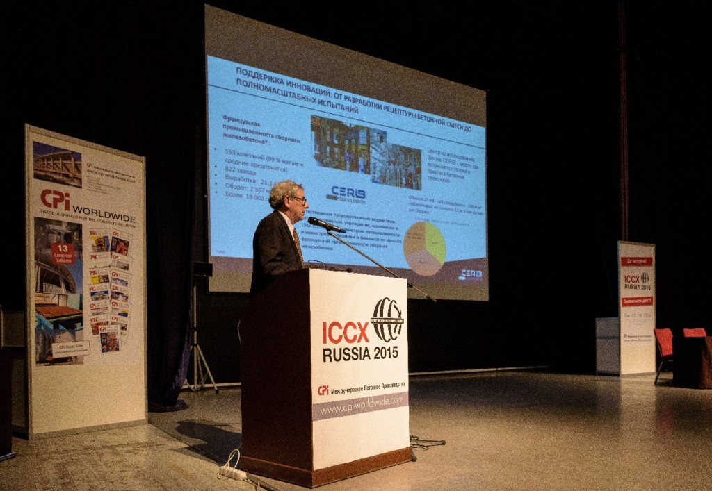 Cerib at the ICCX Russia 2015 Conference