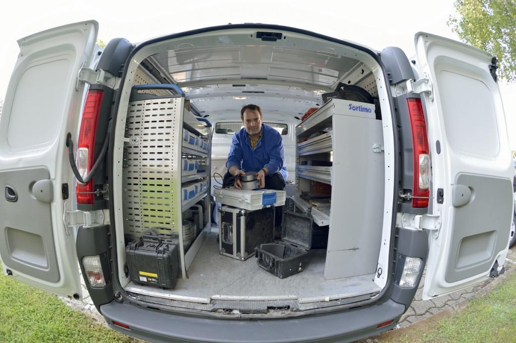 Etalonnage - Laboratoire mobile