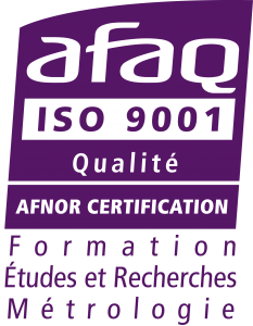 Logo AFAQ - Quality management system certification to NF EN ISO 9001