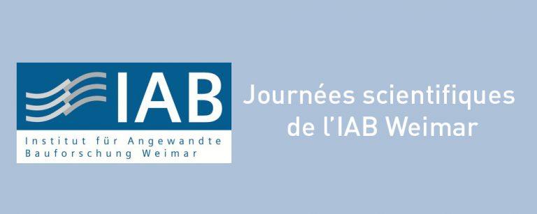 Journées Scientifiques de IAB Weimar - Présentation des nouvelles normes BFUP