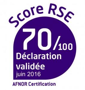 Logo Score RSE du Cerib