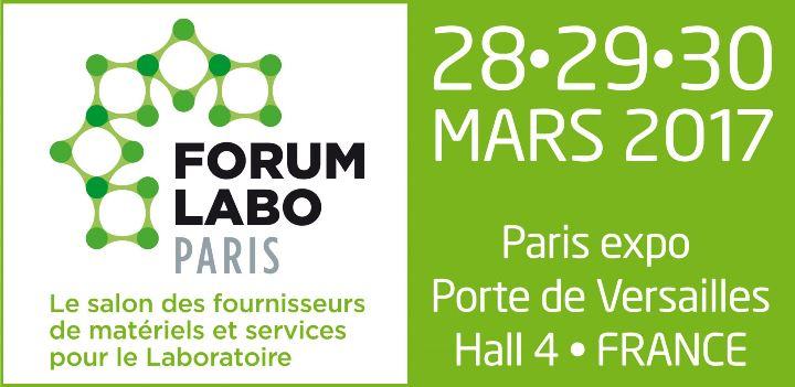 Le Cerib au Forum Labo Paris du 28 au 30 mars 2017