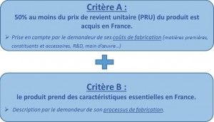 Label OFG - 2 critères