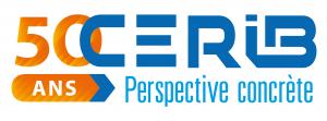 Logo 50 ans Cerib