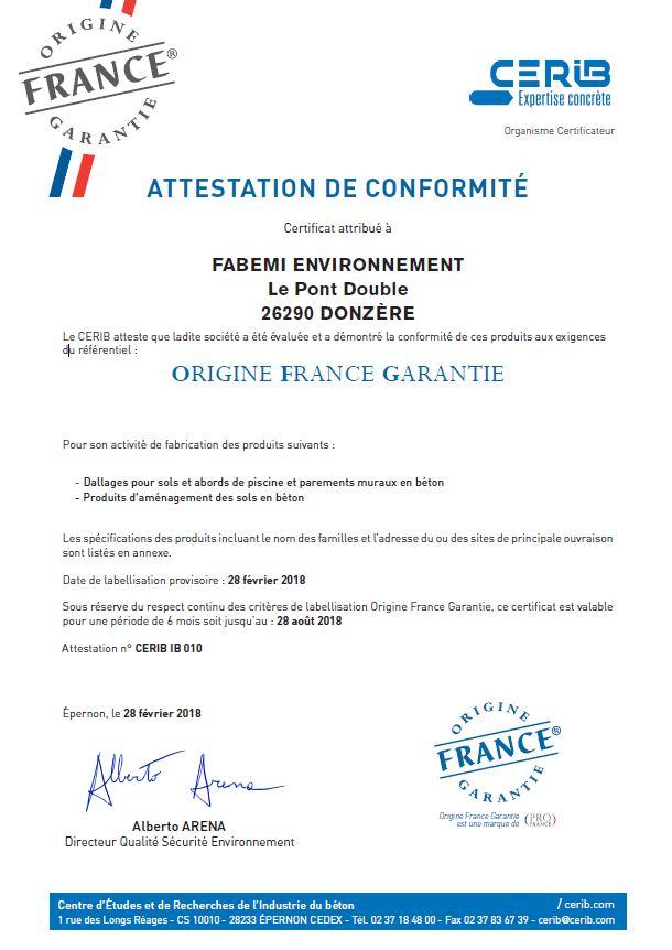 Certificat CERIB_OFG(2018)FABEMI Environnement_Page_1
