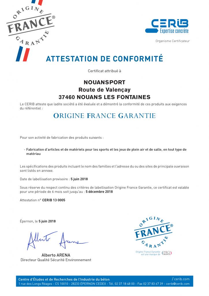 Certificat CERIB_OFG(2018)NOUANSPORT_BD_Page_1