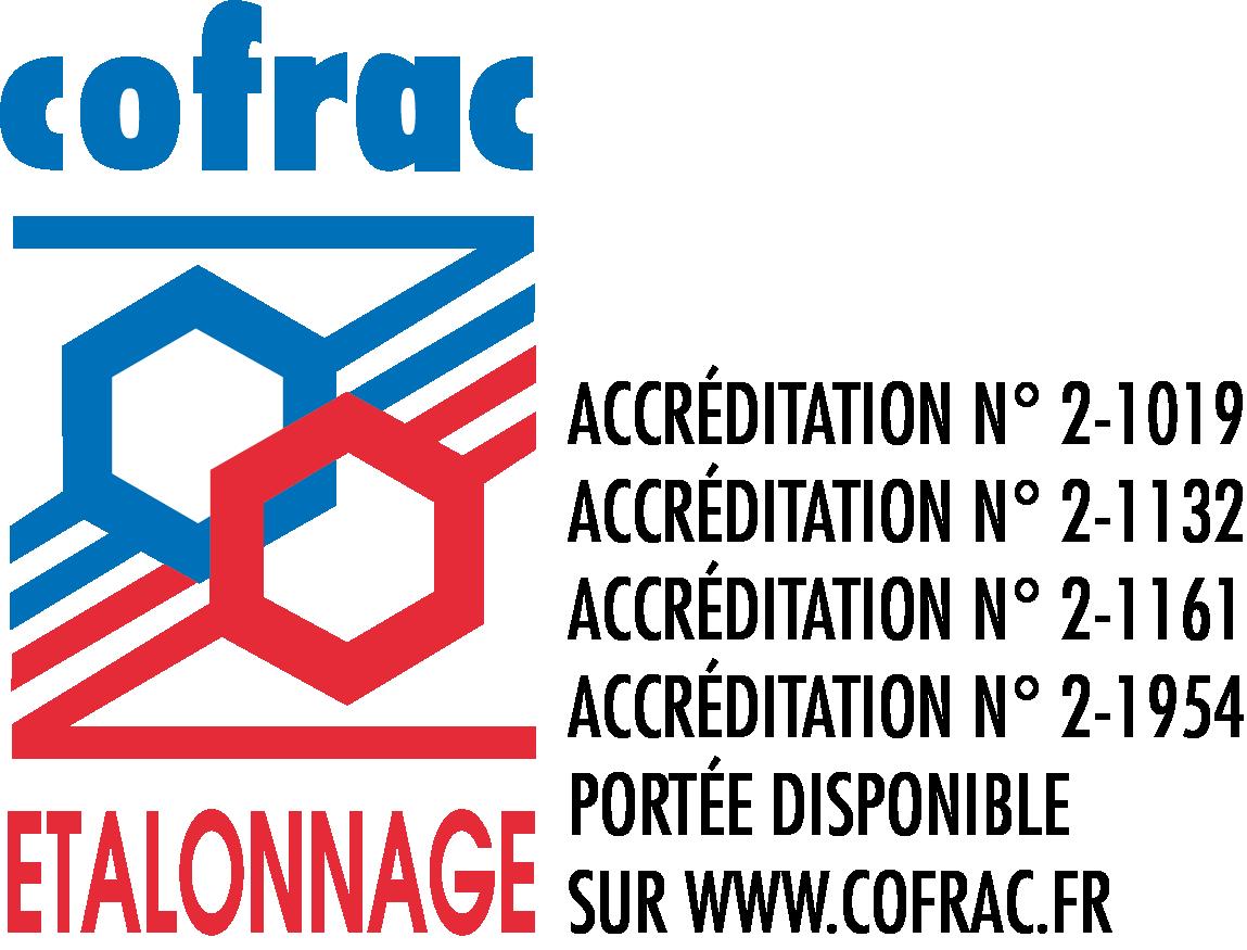 COFRAC ETALON Quadri_4 numeros acreditations